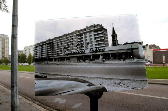 Photographie 1, du projet Passé / présent dans la ville